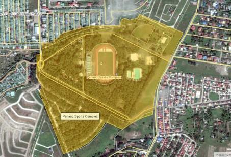 panaad park and stadium map