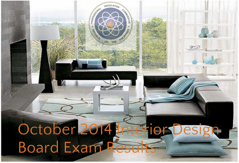 Congratulations October 2014 Interior Design Board Exam Results Complete List Of Passers Attracttour