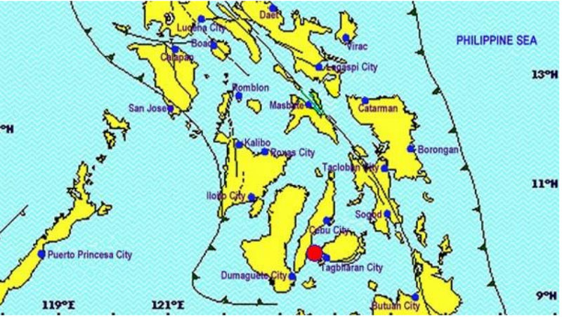 Earthquake on Bohol