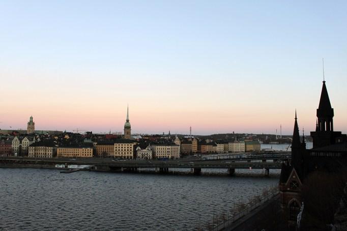 Södermalm mot Centralbron