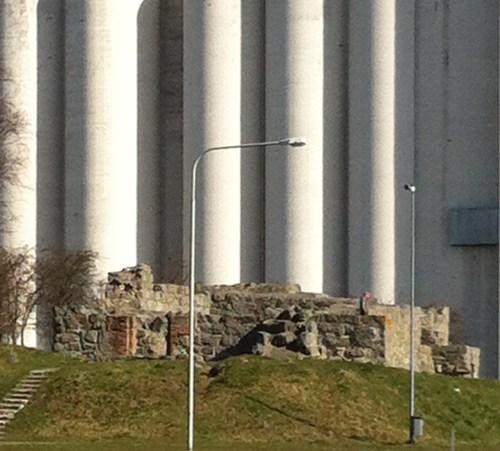 Ruinen i Åhus hamn