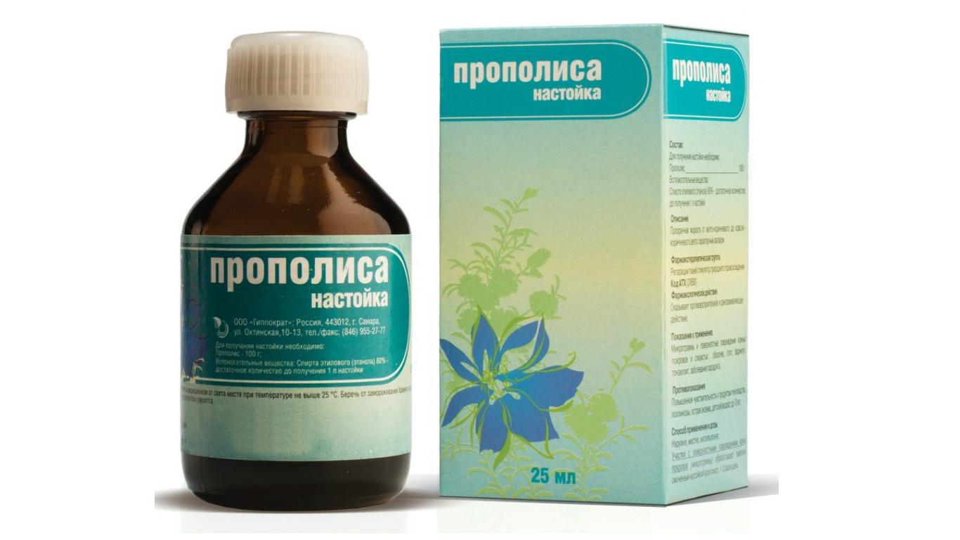 propolis az alkoholról a prosztatitisből