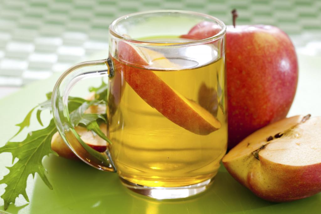 น้ำส้มสายชูแอปเปิ้ลกับกระเทียมลดความอ้วน