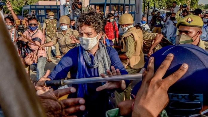 प्रियंका गांधी वाड्रा ने हाथरस डीएम को हटाने की मांग की