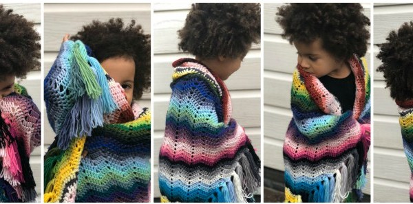 Serape Ripple Crochet Pattern
