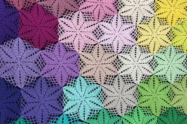 Atty's Anemone Blanket Joining Tutorial