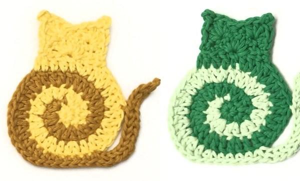 Swirly Cat FREE Crochet Pattern