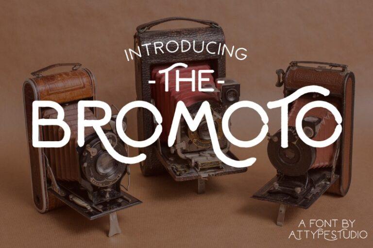 Bromoto - Vintage Font