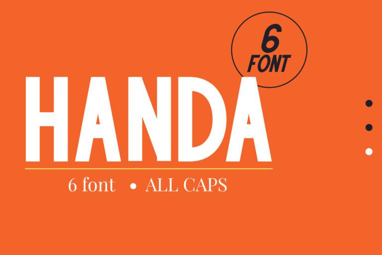 Handa - Sans Serif Family