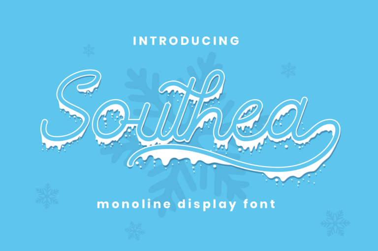 Preview image of Southea – Christmas Font