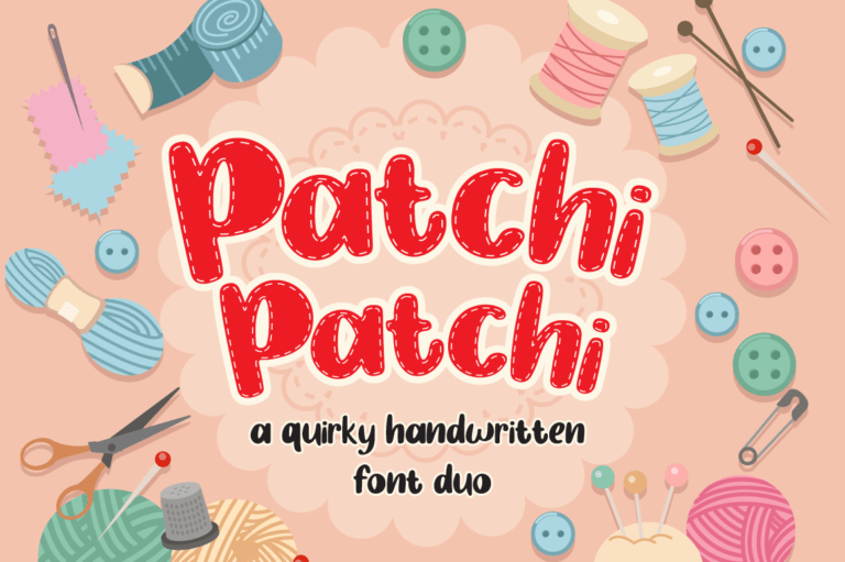 Patchi Patchi - Display Font