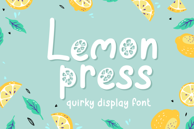 Lemon Press - Summer Font