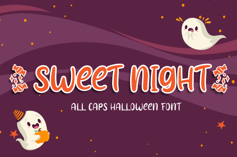 Sweet Night - Halloween Font