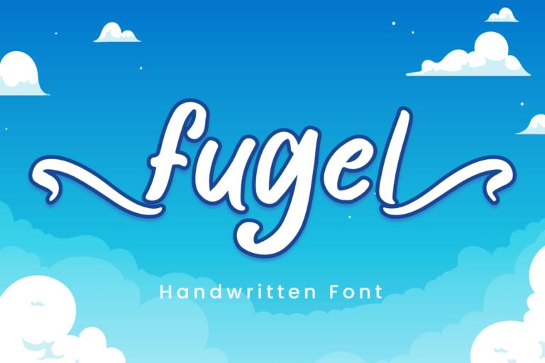 Fugel - Handwritting Font