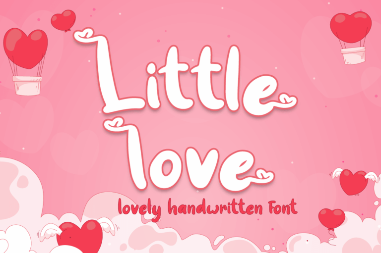 Little Love - Lovely Valentine Font
