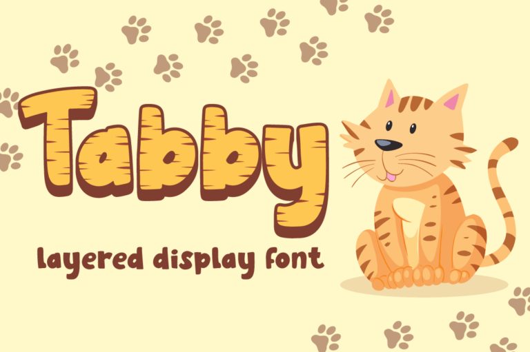 Tabby - Display Font