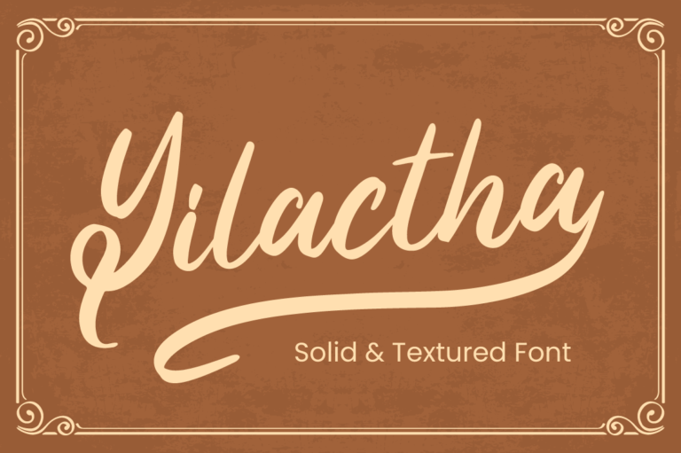 Preview image of Yilactha – Script Font