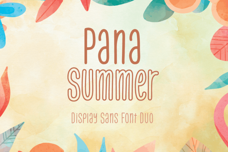 Pana Summer - Display Sans Serif