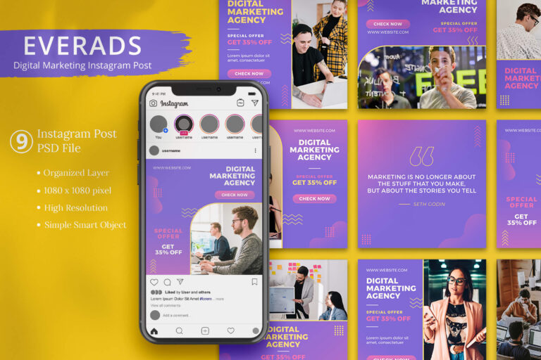 Everads - Digital Marketing Instagram Post