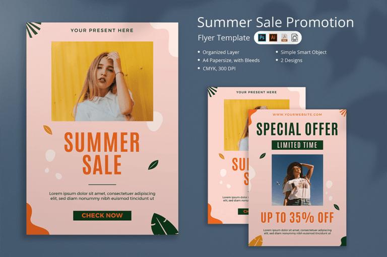 Lelonia - Summer Sale Flyer