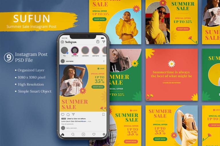 Sufun - Summer Sale Instagram Post
