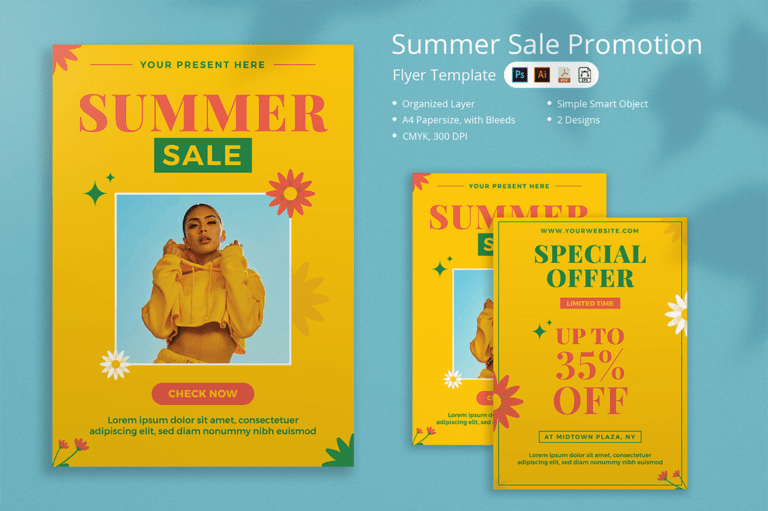 Preview image of Summer Sale Flyer