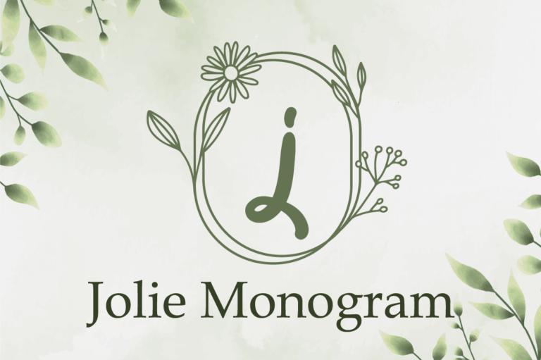 Jolie Monogram