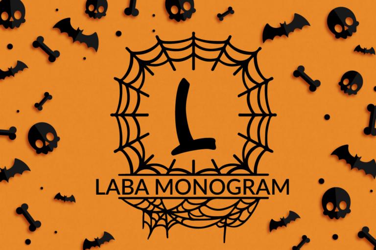 Laba Halloween Monogram