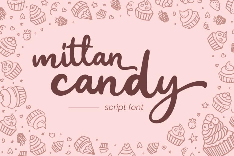 Mittan Candy - Script Font