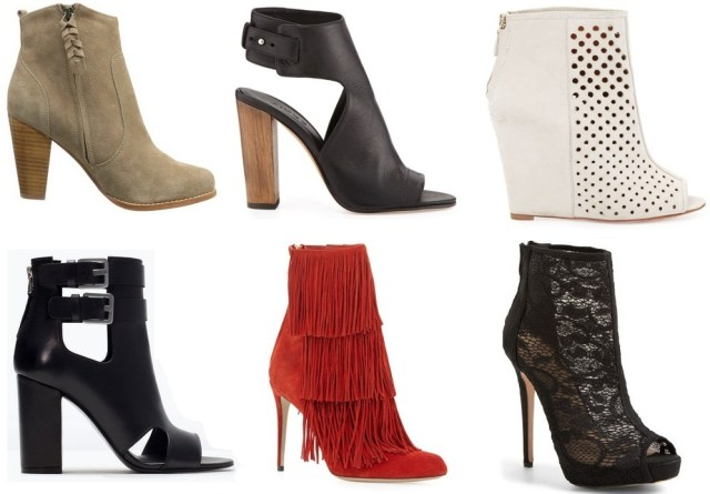 Spring Picks - 6 Booties Perfect For Spring