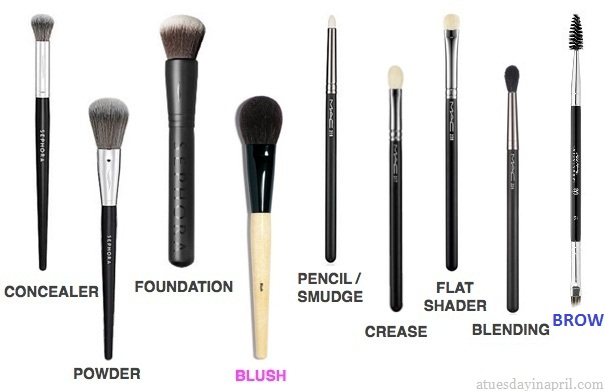 My Must Have Makeup Brushes