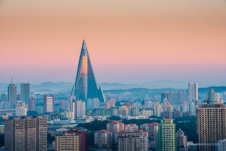 Buildings in North Korea