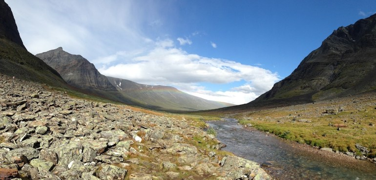 Sarek National Park offers so many natural beauties