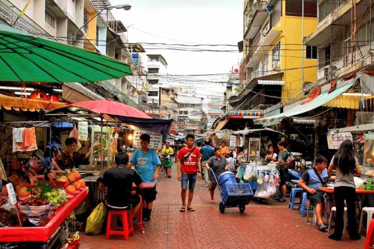 Street Food in Bangkok Allie