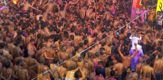 holi in bangaon ,saharsa 1