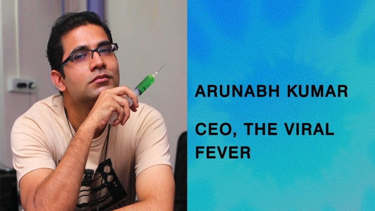 अरुणाभ कुमार- वायरल फीवर टीवीएफ  के संस्थापक