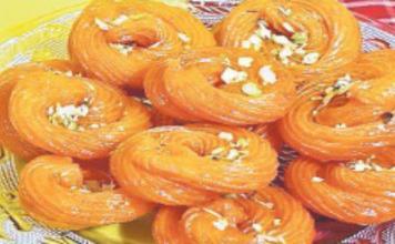 Chhena Jalebi of belsand
