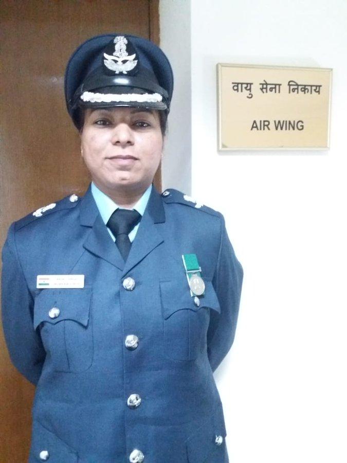 बिहार की अंजलि ने किया कमाल, बनी विदेश में तैनात होने वाली  पहली महिला विंग कमांडर