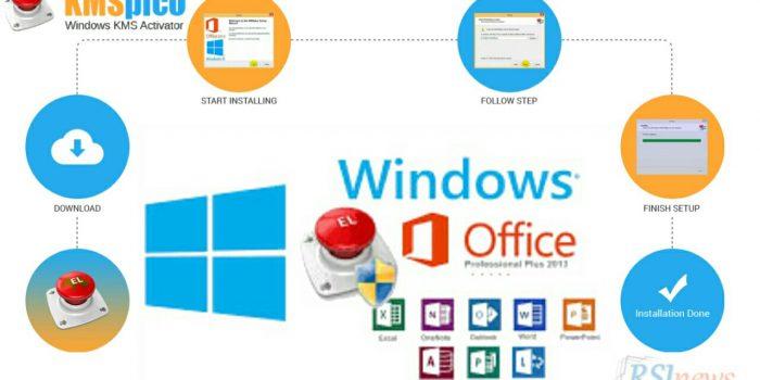 cara aktivasi windows 7 dengan kmspico