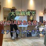 大阪鶴橋でNODIA新色を使ったセミナーをしてきたよ!