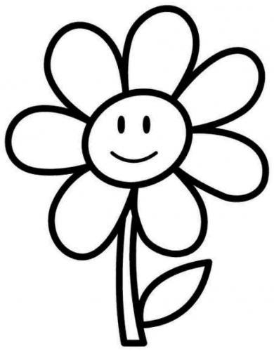 Fiore Disegni Per Bambini : fiore, disegni, bambini, Disegni, Fiori, Bambini