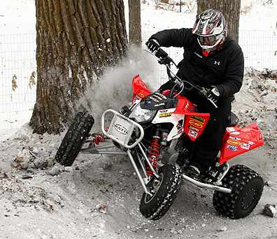 chinese atv 4 way flat wiring diagram trailer dynantefo sticking it to old man winter - tips for snow riding atvconnection.com