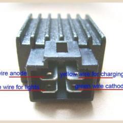 Kazuma 49cc Quad Wiring Diagram 6 Round Trailer Plug Www Toyskids Co 110cc Falcon Rectifier Atvconnection Com Atv 50cc