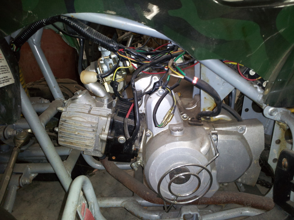Chinese Atv Wiring Diagrams Also Honda 110 Ignition Wiring Diagram
