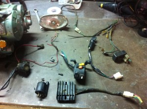 wiring diagram for kudaki 250cc  ATVConnection ATV