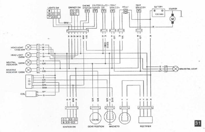 kawasaki kx 250 wiring diagram kawasaki klr 250 wiring diagram