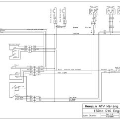 150cc Chinese Scooter Wiring Diagram Hotpoint Gas Stove 50cc Atv Manuals E22 All Data Honda Starter Relay