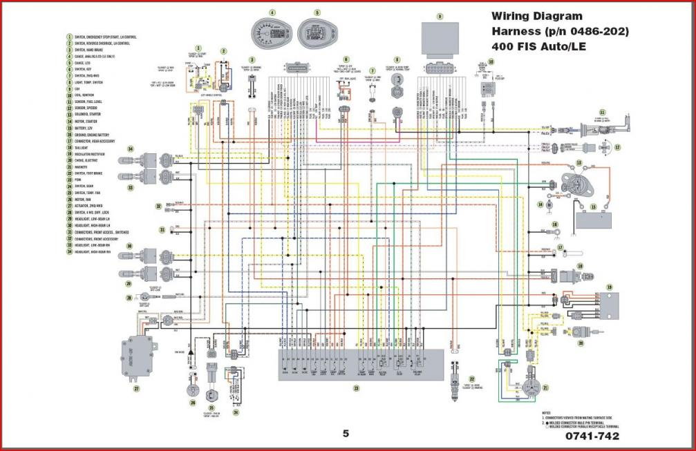 2002 Polaris Sportsman 500 Ho Wiring Diagram - Wiring Diagram