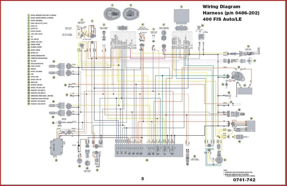 2007 Polaris Sportsman 500 Ho Wiring Diagram  Somurich