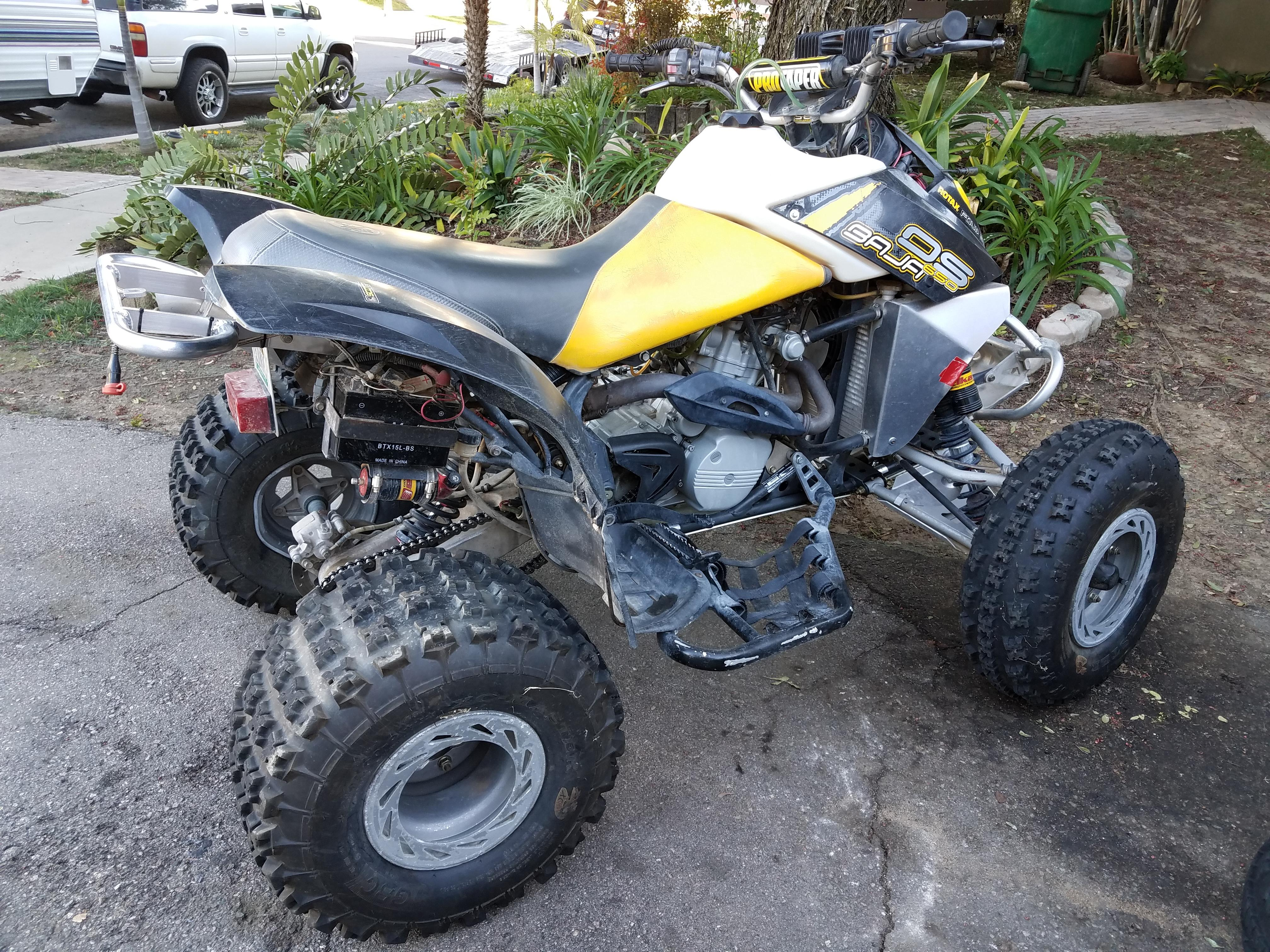 baja 90 atv wiring diagram ba falcon stereo 2002 ds 650 question about